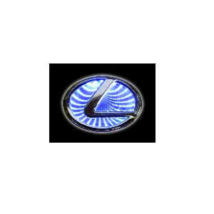 3D Emblem LEXUS 10.5 cm x 6.8 cm
